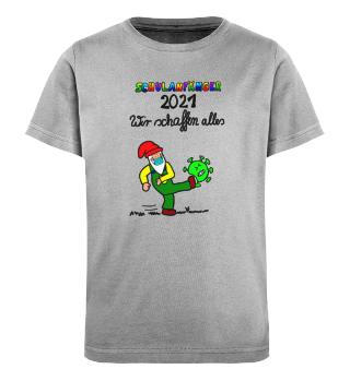 Organic T-Shirt Schulanfänger