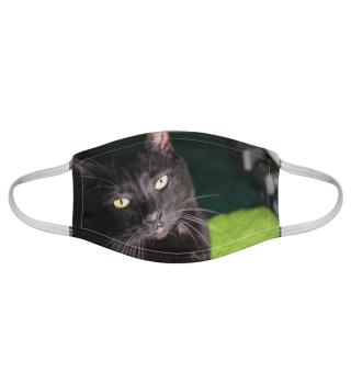 Gesichtsmaske mit Katzenmotiv 20.56